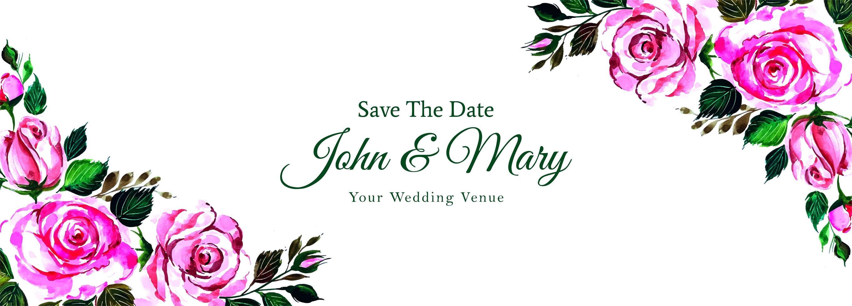 Beautiful Decorative Corners Floral Wedding Banner Download Free Vectors Clipart Graphics Vector Art