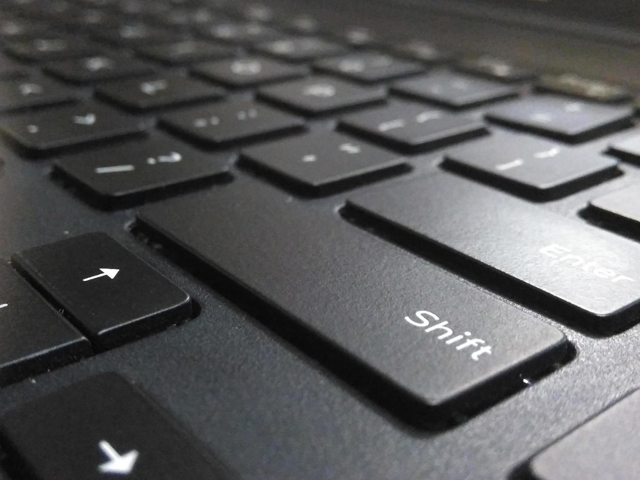 Detail of computer keyboard photo