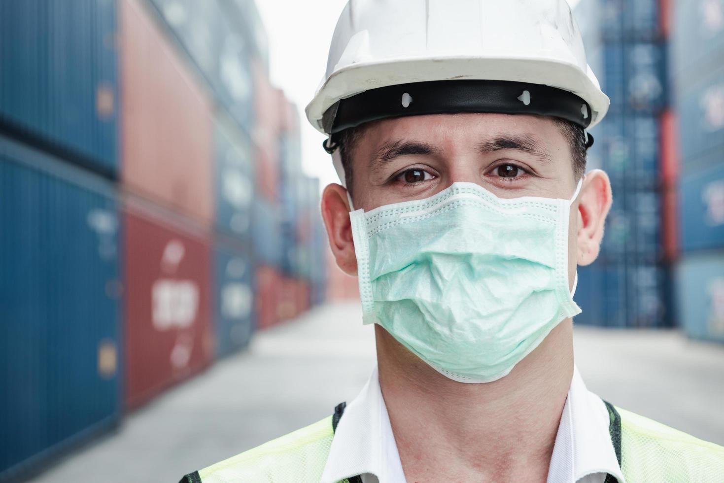 Transport engineer worker photo