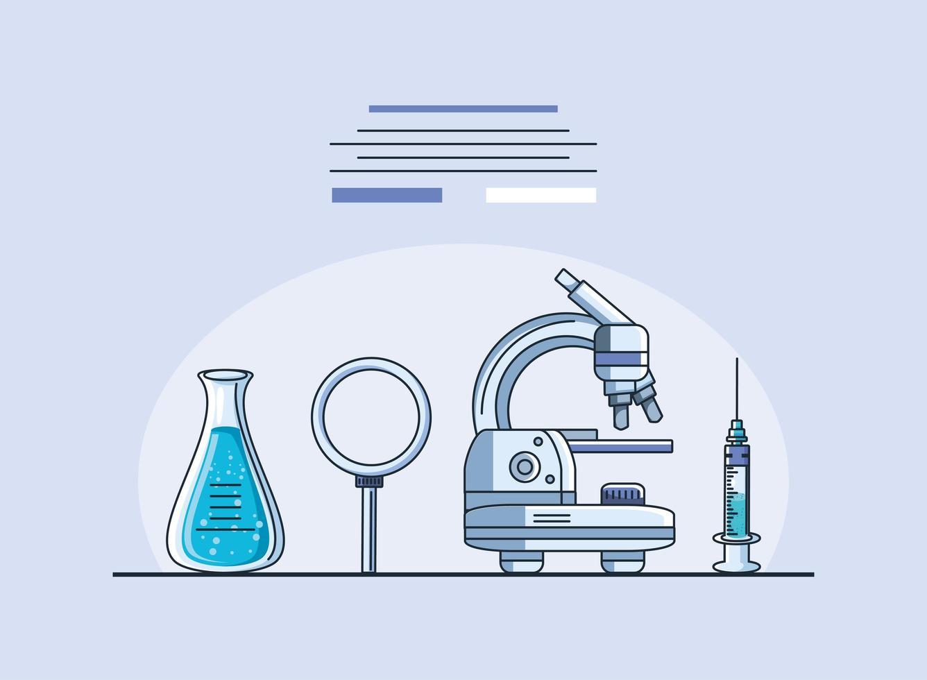 artículos de laboratorio, investigación de coronavirus vector