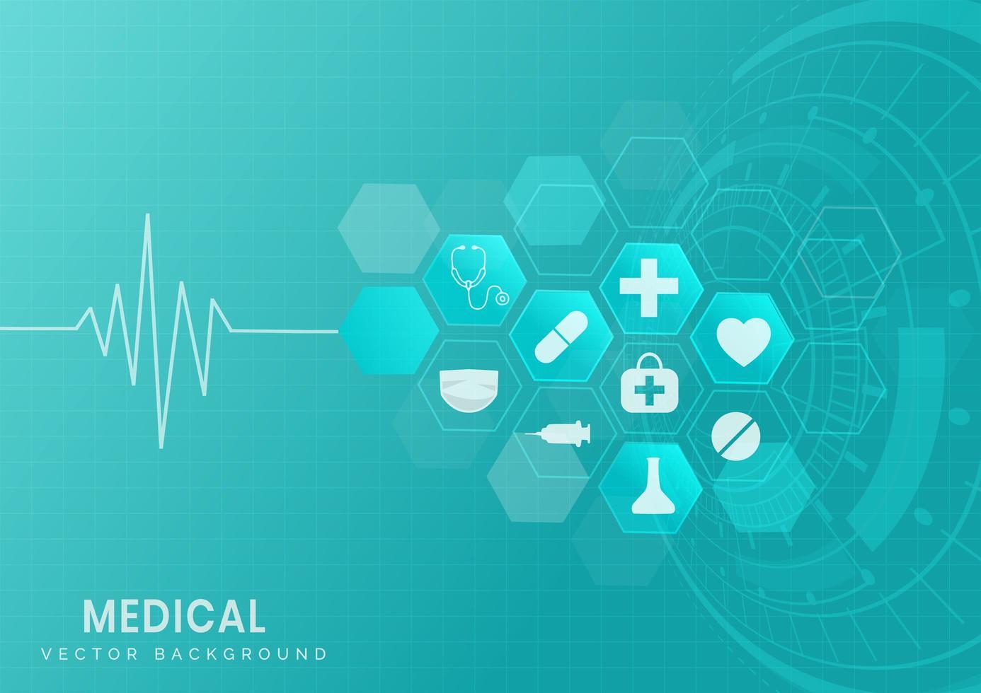 formação médica e científica. vetor
