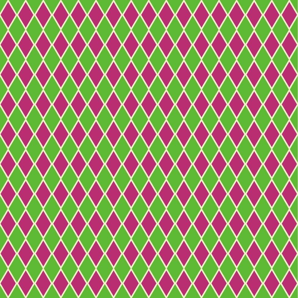 naadloze harlekijn patroon achtergrond vector