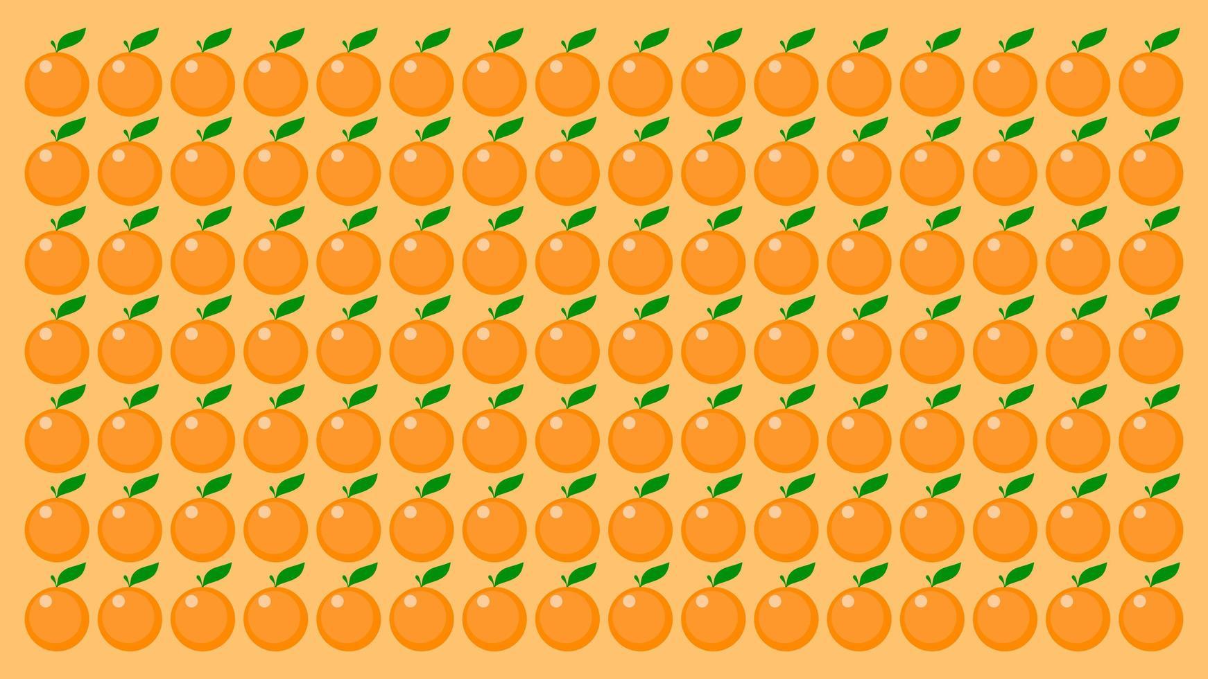 patrón de fondo naranja vector