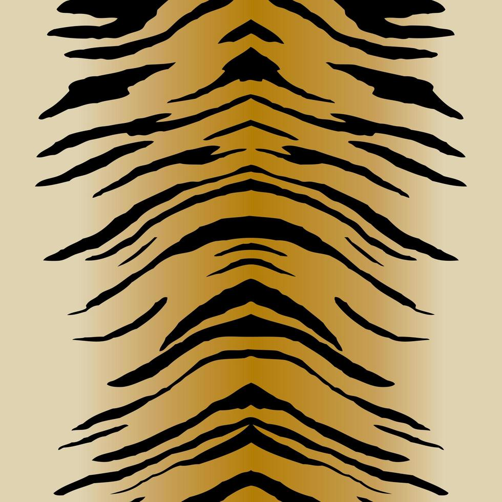 motif de rayures de tigre vecteur