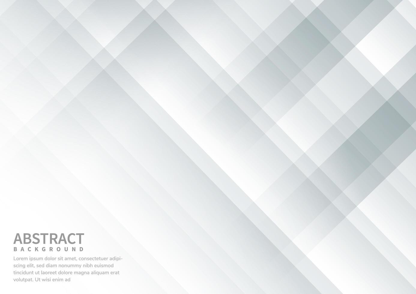 fond diagonal gris et blanc vecteur