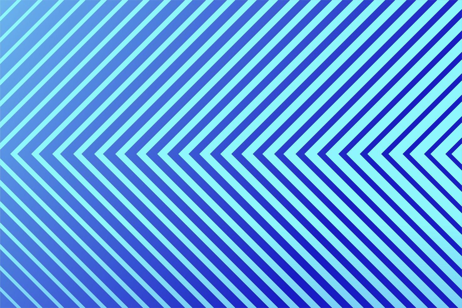 conception de ligne bleu clair et bleue inclinée vecteur