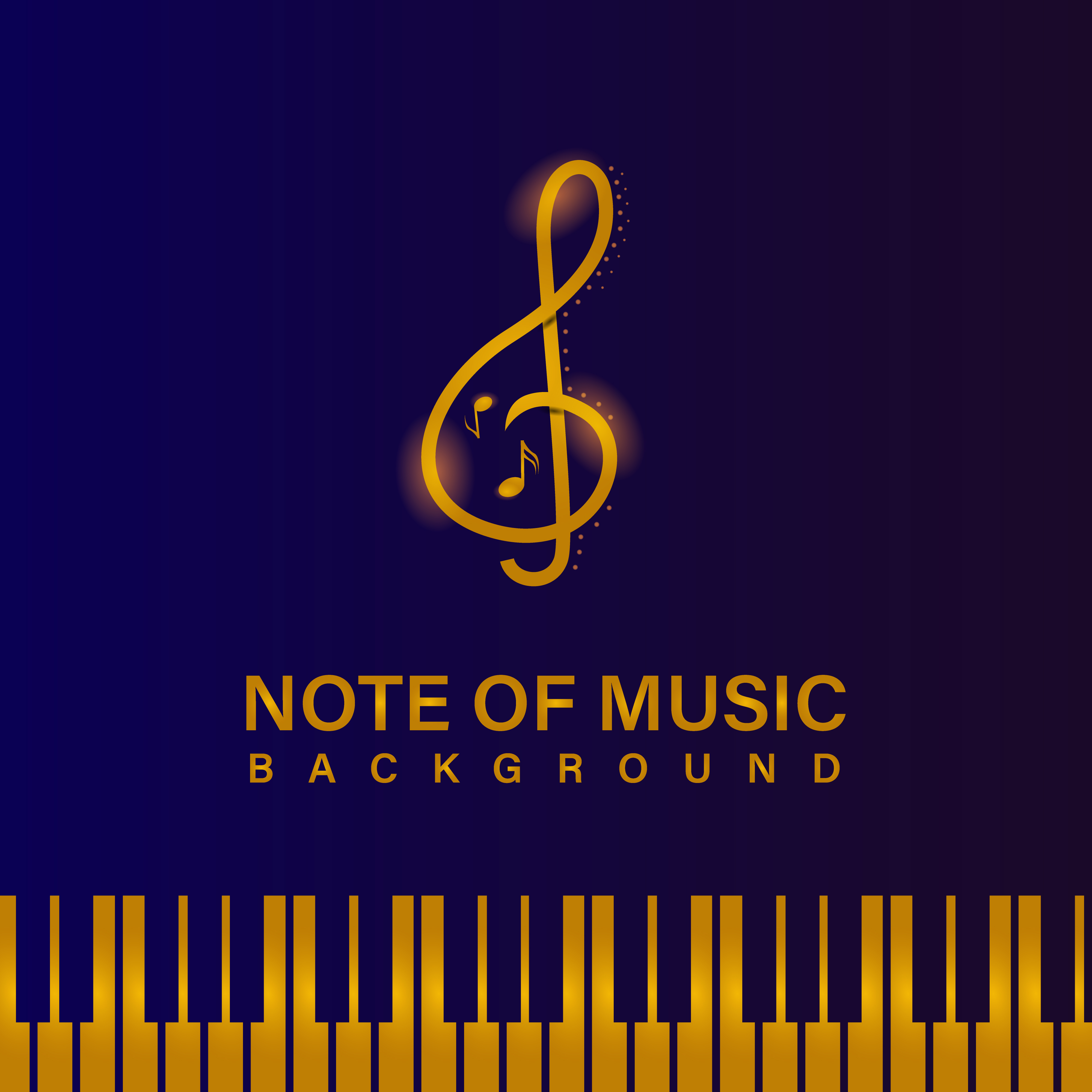 Glowing Golden Music Banner And Background Template 1237687 Vector Art At  Vecteezy
