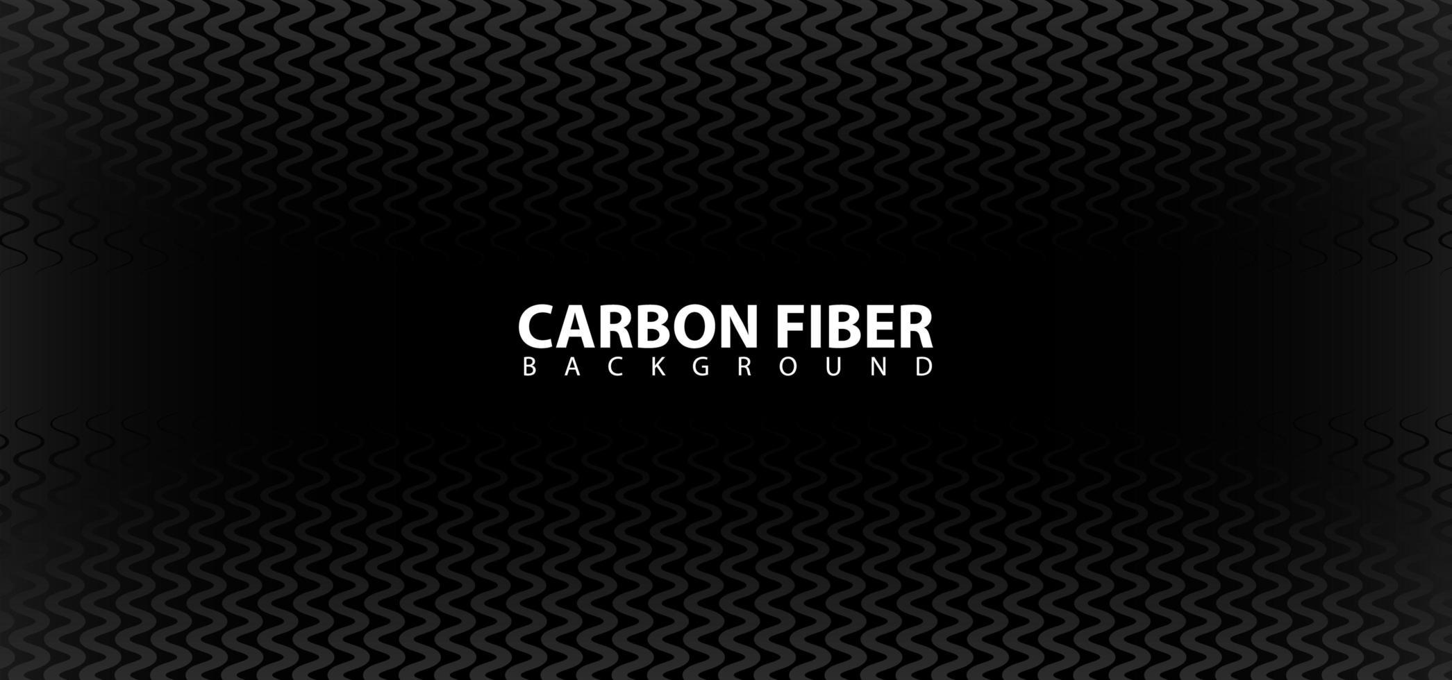 modèle de fond de conception de fibre de carbone noir vecteur