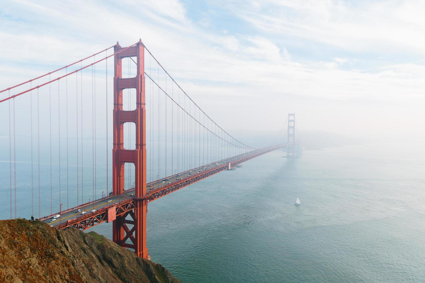 Golden Gate Bridge during the day photo