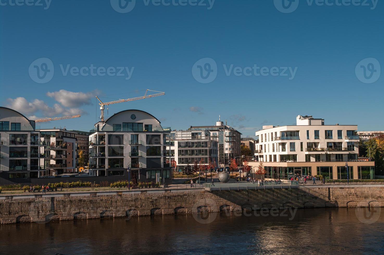 desarrollo de edificios modernos en magdeburgo, alemania foto