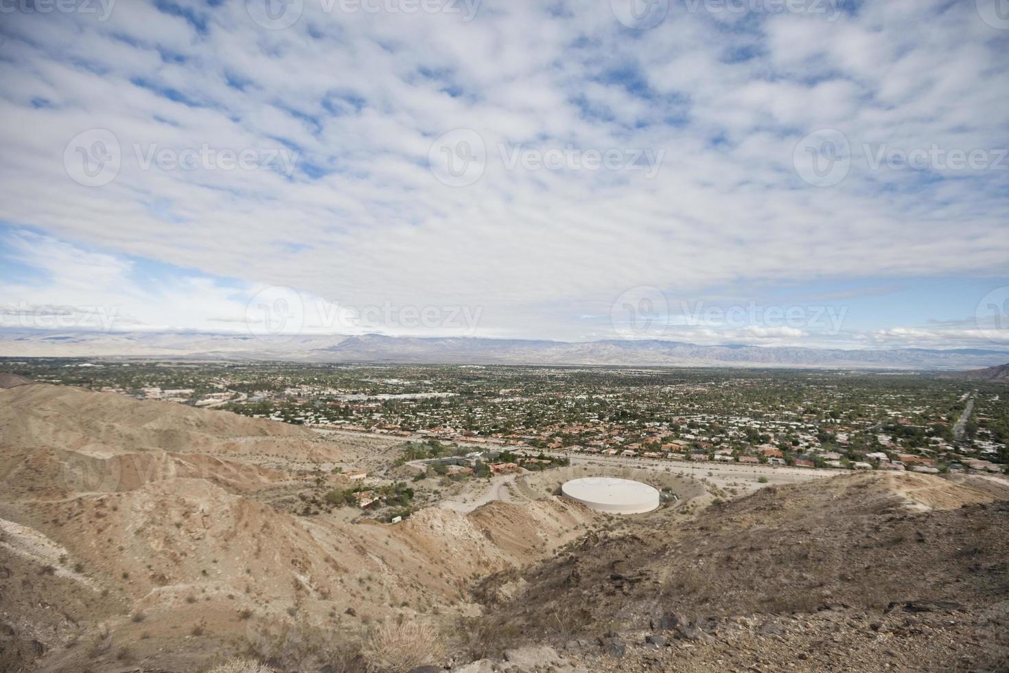 vista del paisaje con cielo nublado foto