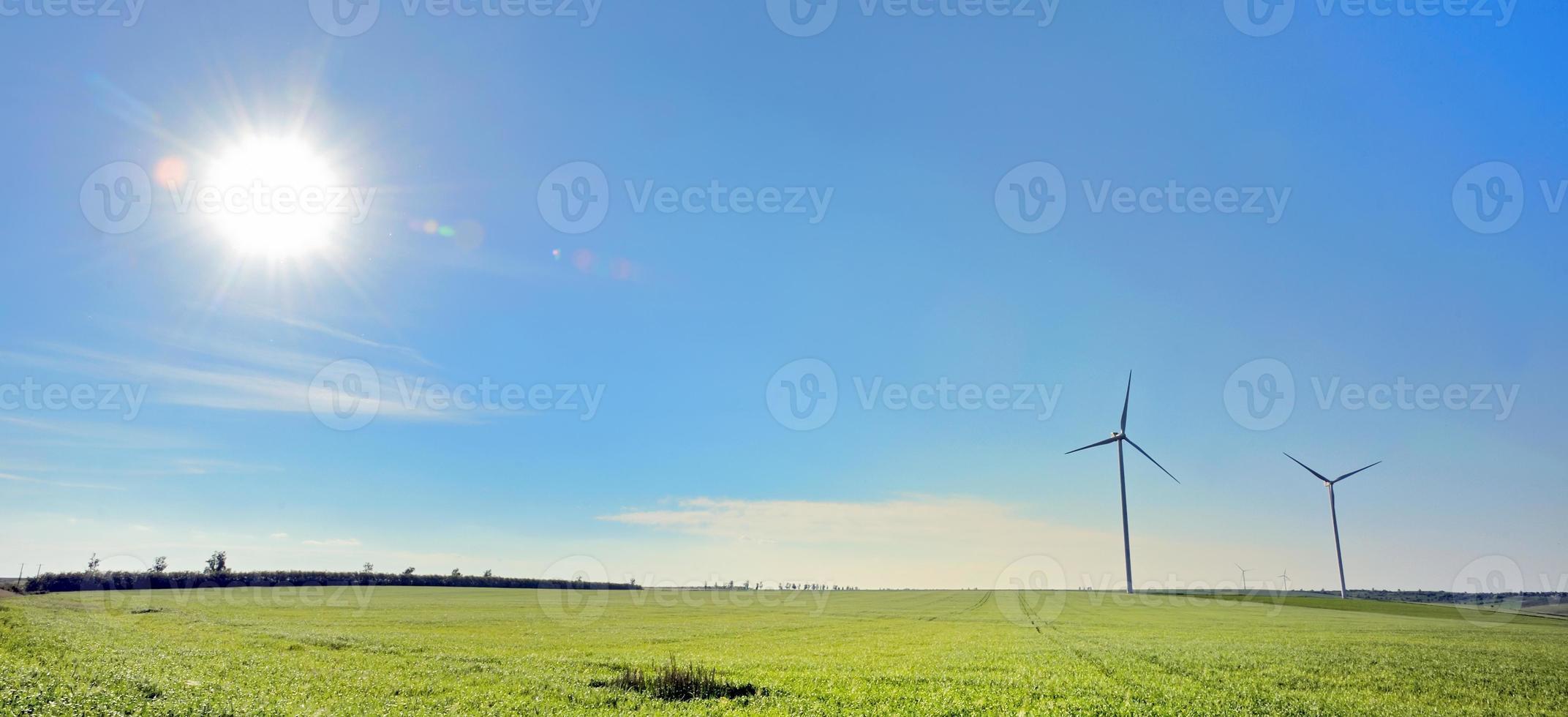 turbinas de viento foto