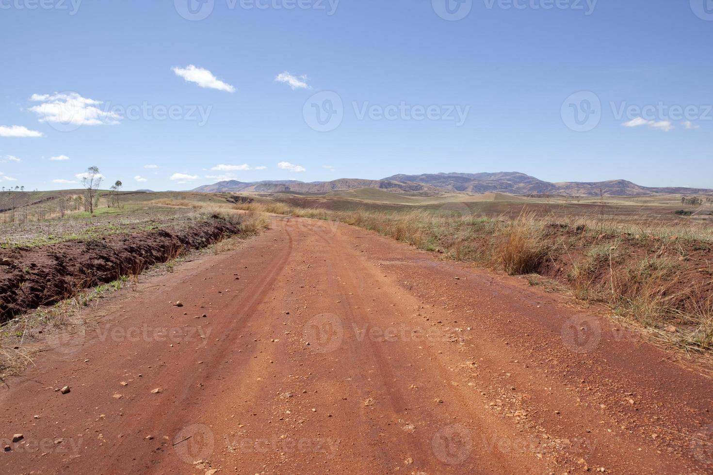 Dirt Road, Madagascar photo