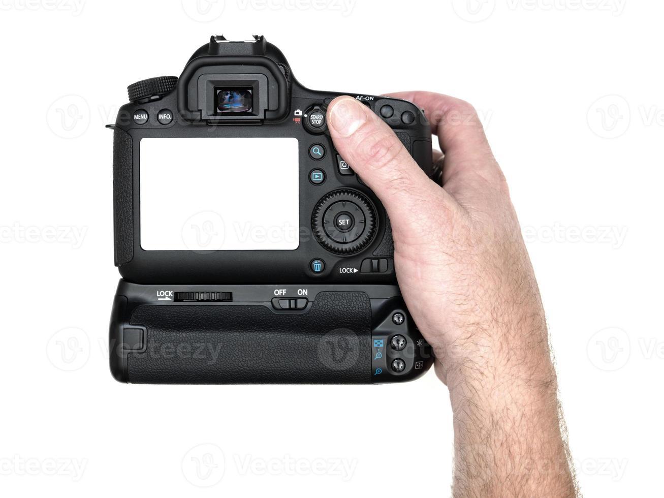 cámara réflex digital foto