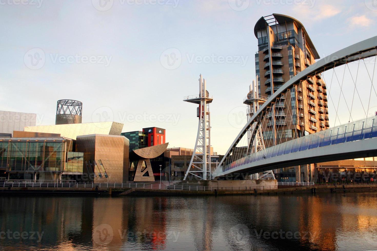 Muelles de Salford, Manchester foto