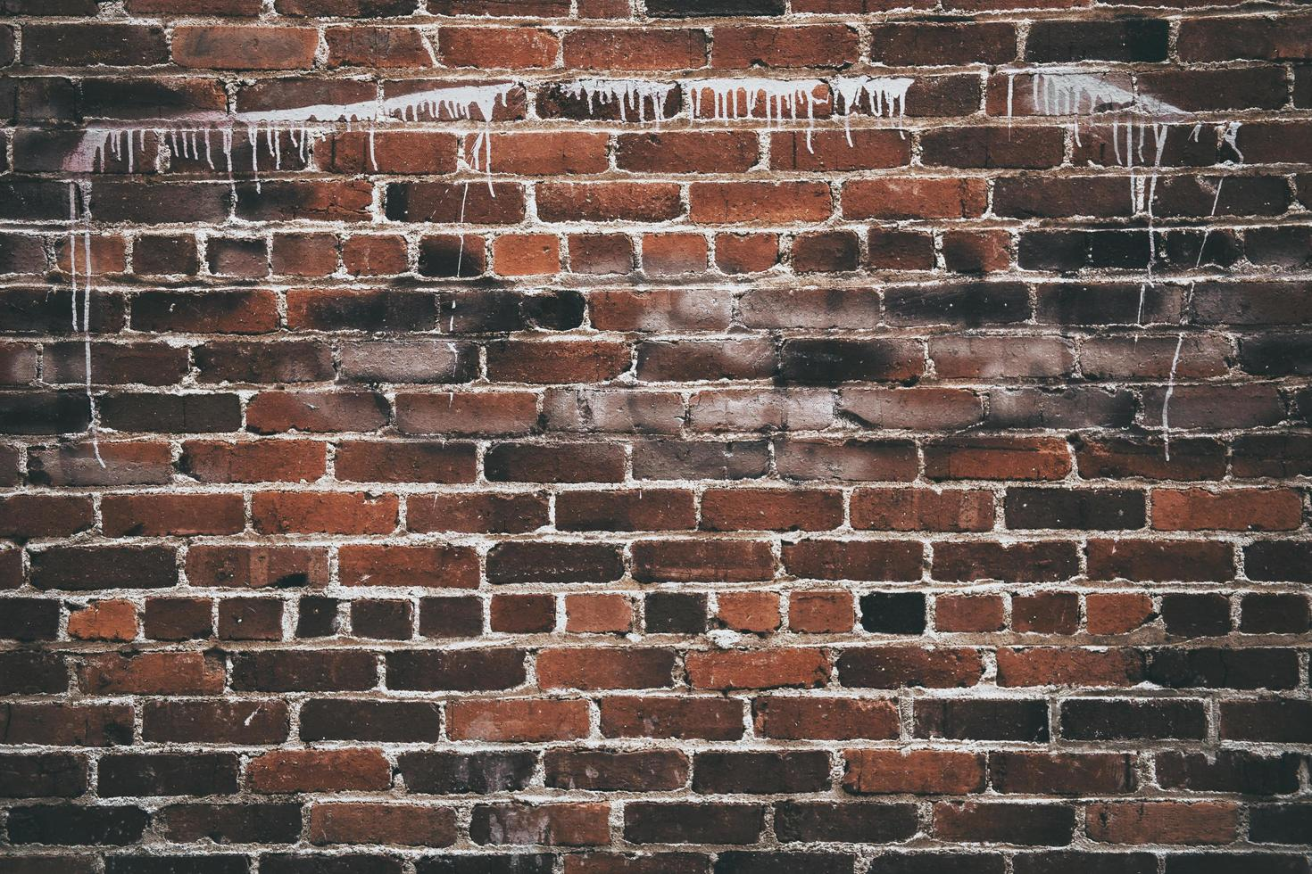 pared de ladrillo marrón foto