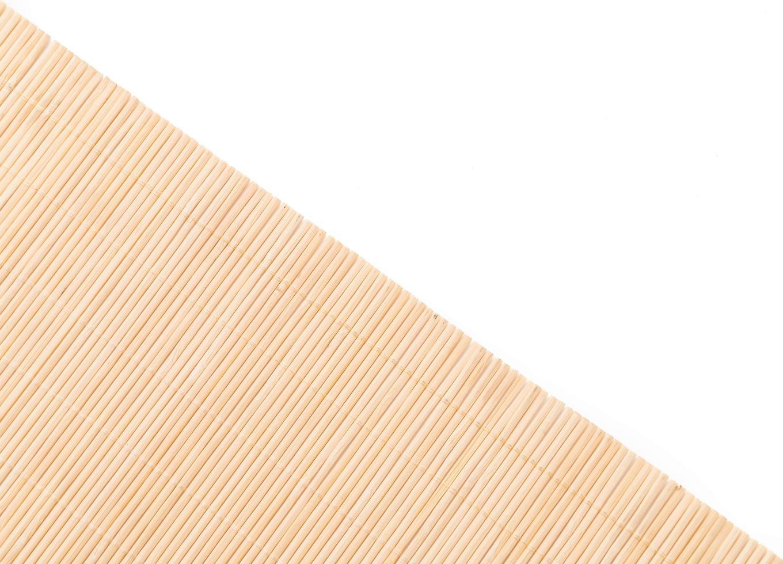 superficie de bambú de la estera foto