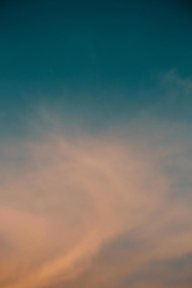A blurred cloud  photo