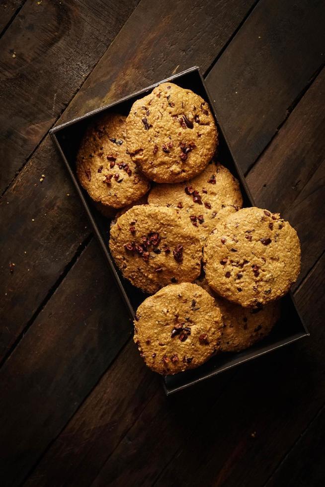 galletas en una caja foto
