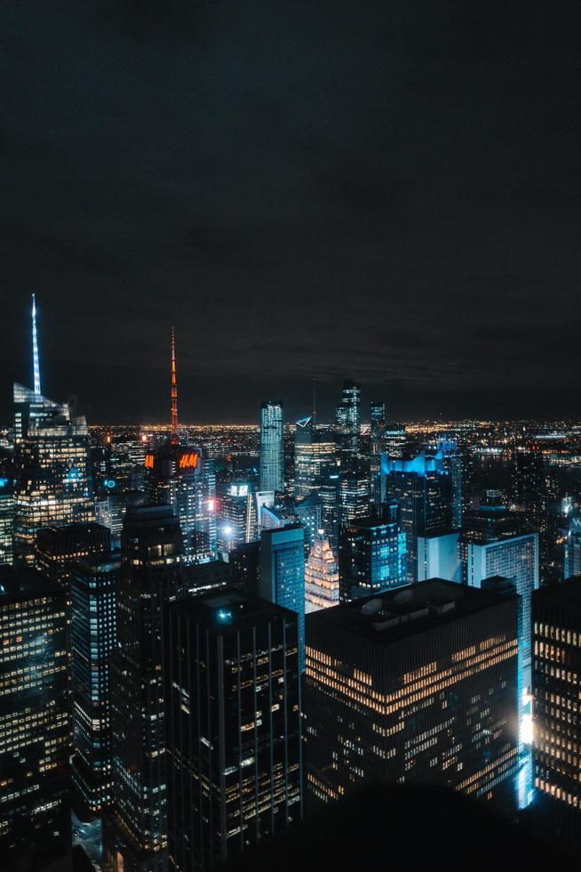 vista aerea de edificios foto