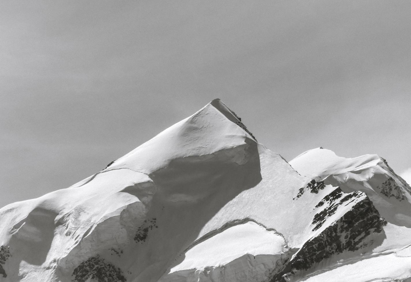 Snowy Mountain Peak photo