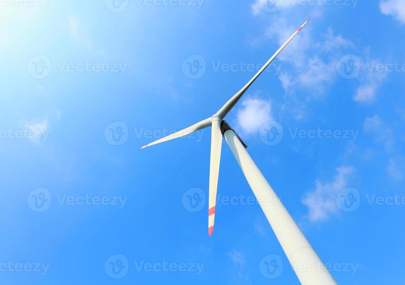 Wind power turbine photo