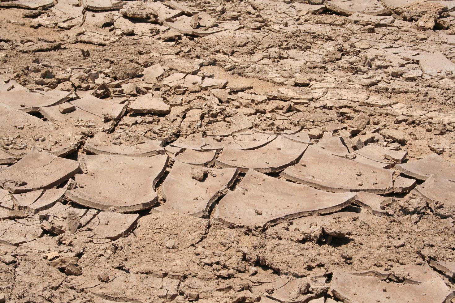 Lodo seco agrietado de fangoso Salt Road skeleton Coast, Namibia foto