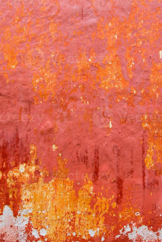 menorca ciutadella rojo grunge fachada textura foto