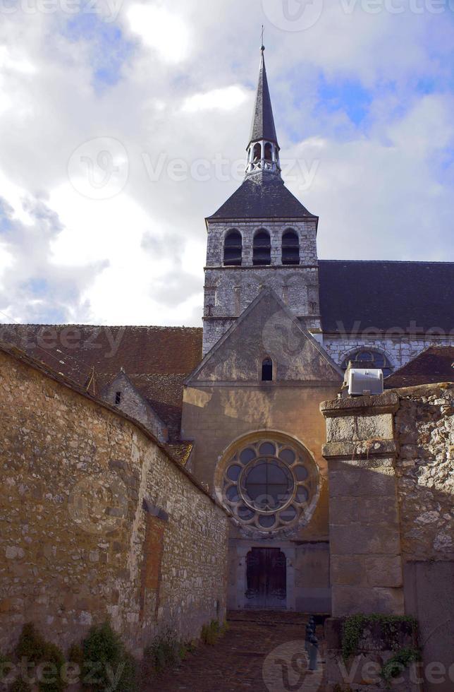 la iglesia gótica de st.croix foto
