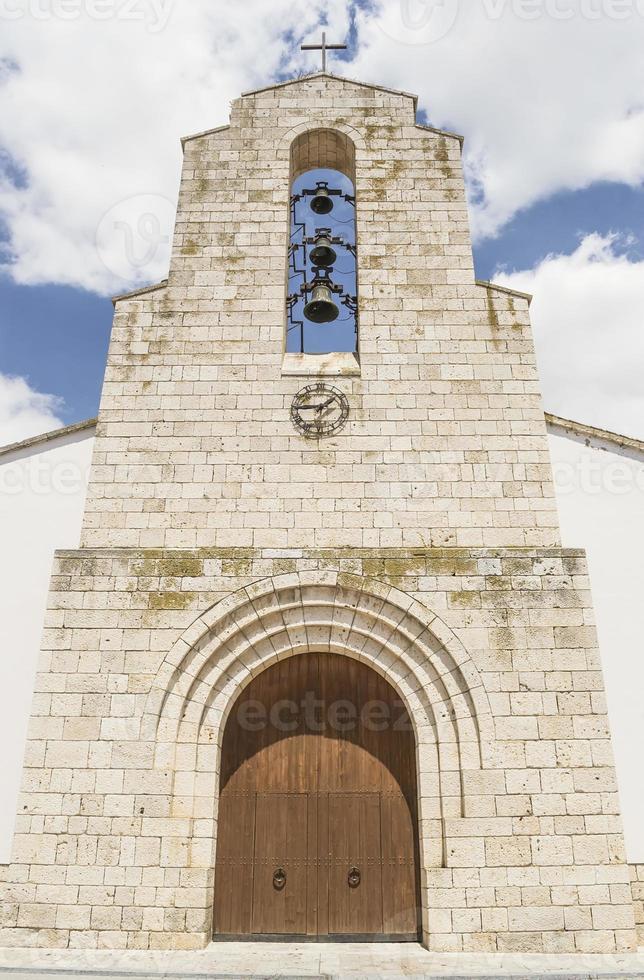 Catholic church facade photo