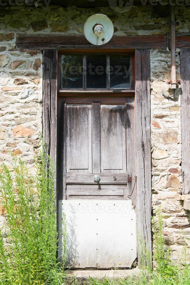puerta casa habitable foto