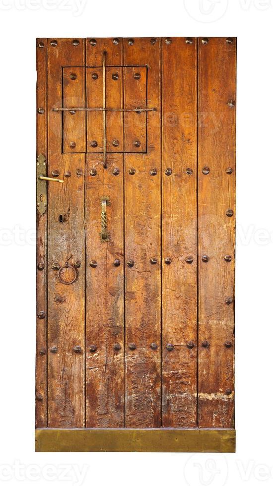 puerta de madera vintage foto