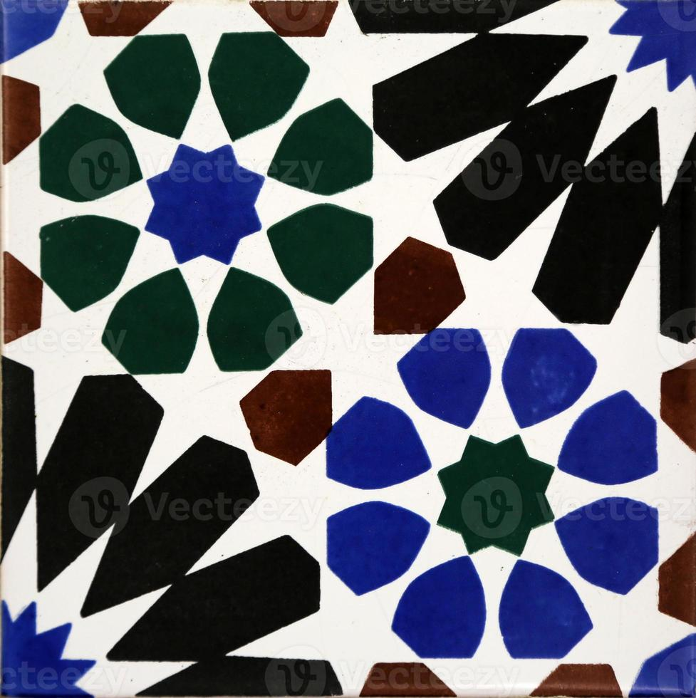 Traditional tiles from Porto, Portugal photo