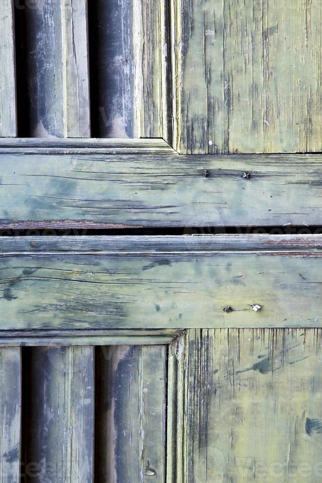 ventana palacios varese italia abstracto ciego en ladrillo foto