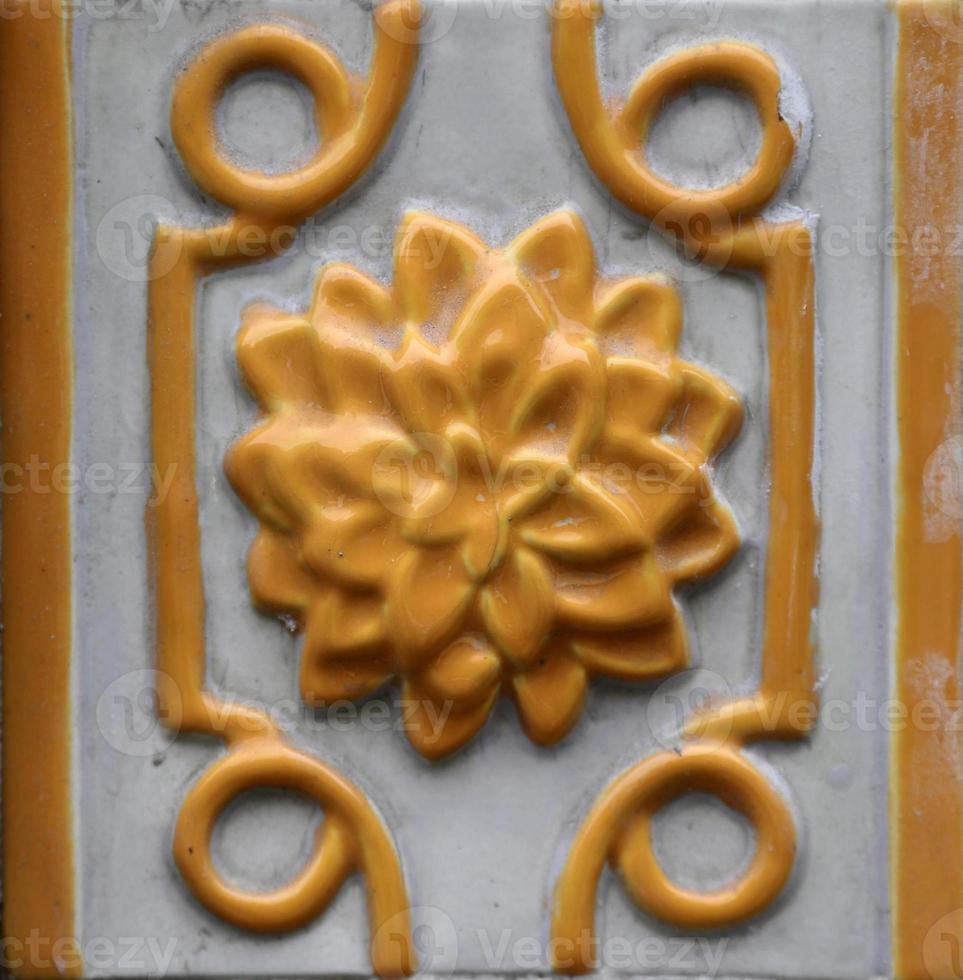 Azulejos tradicionales de Oporto, Portugal foto