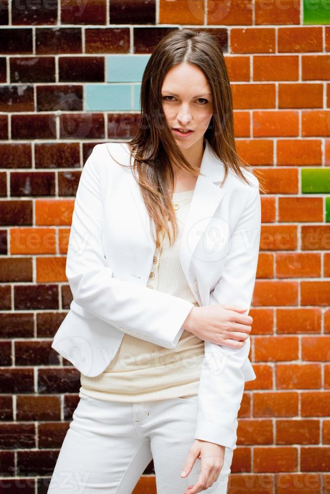 Fashionable Woman Portrait photo