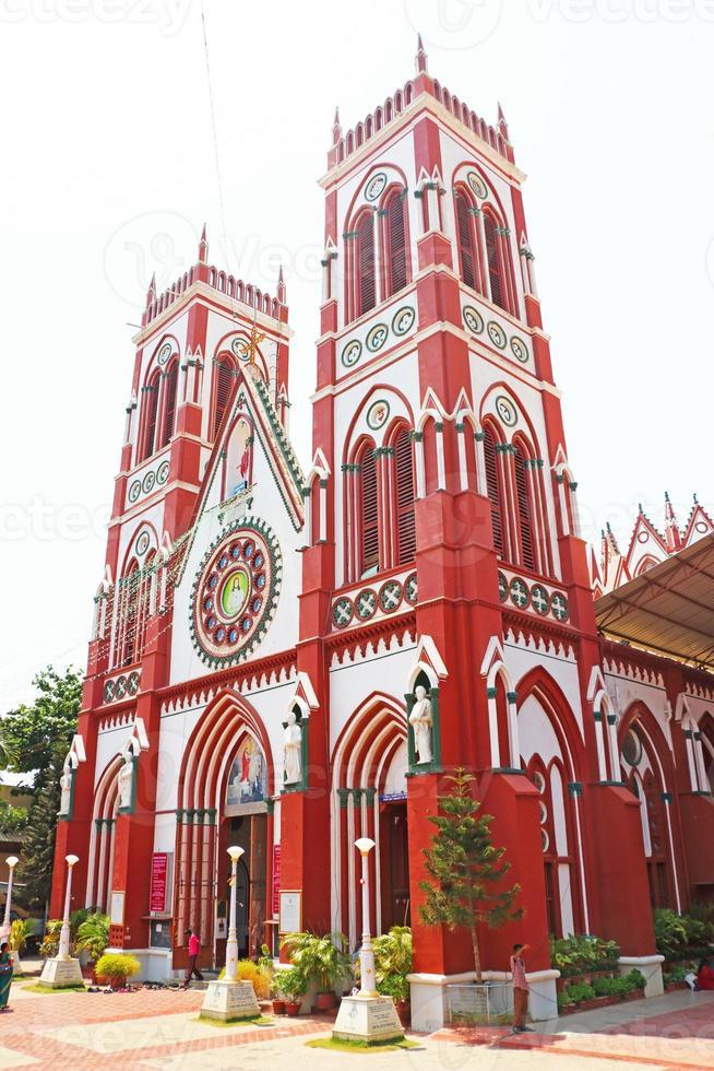 Sacred Heart Church ponducherry india photo