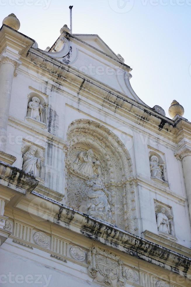 Antigua Guatmala cathedral photo