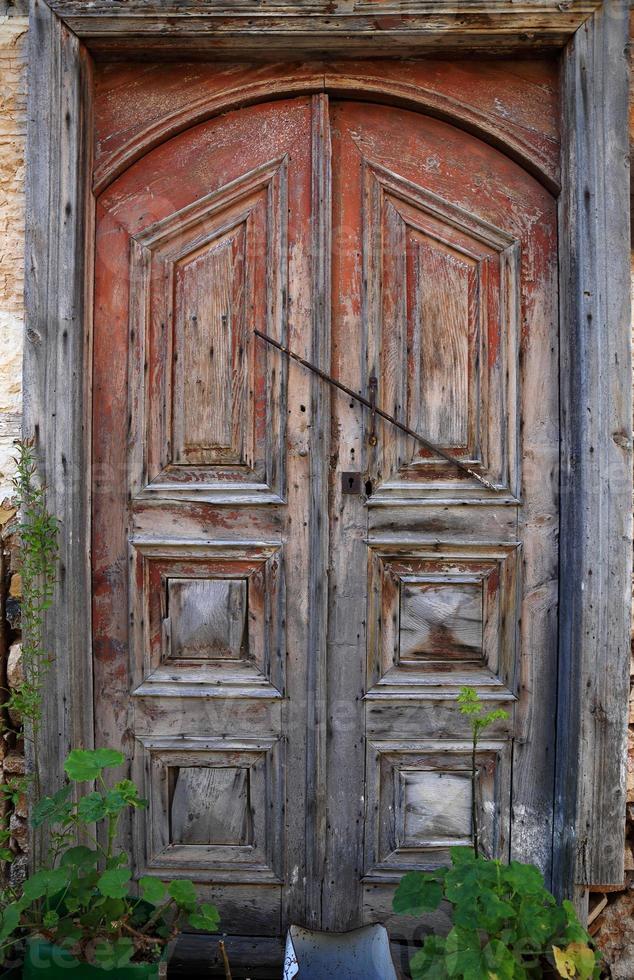 Vintage door-Kas photo