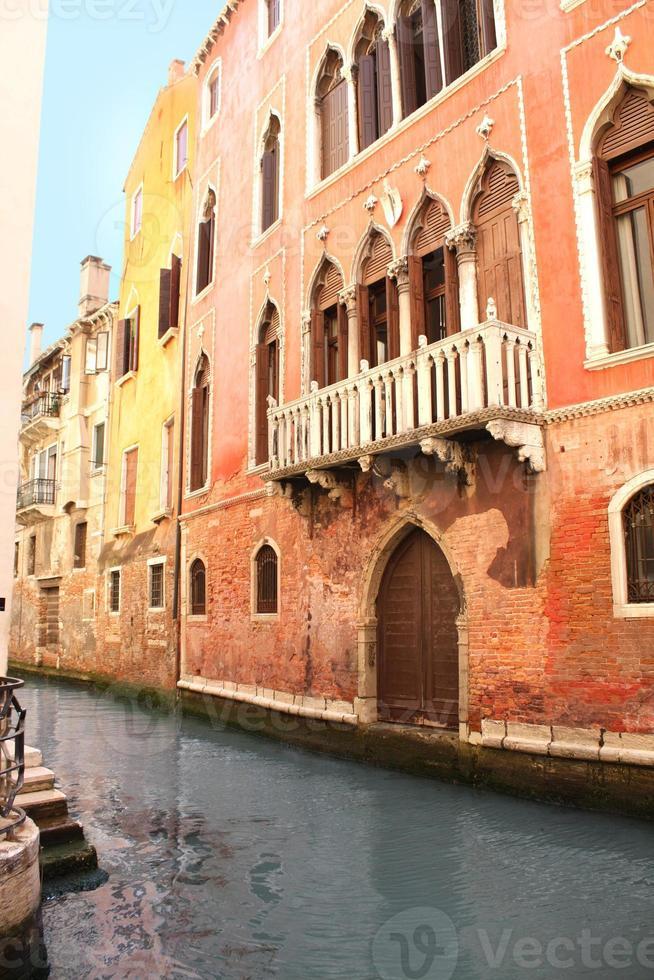 Venice street, Italy photo