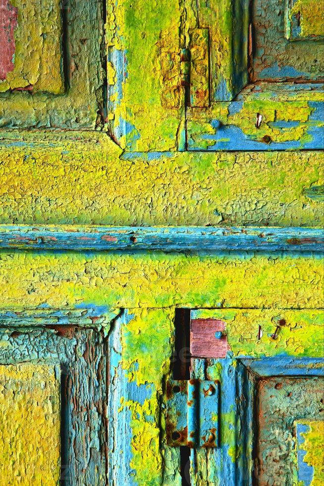 lanzarote madera abstracta en colores foto
