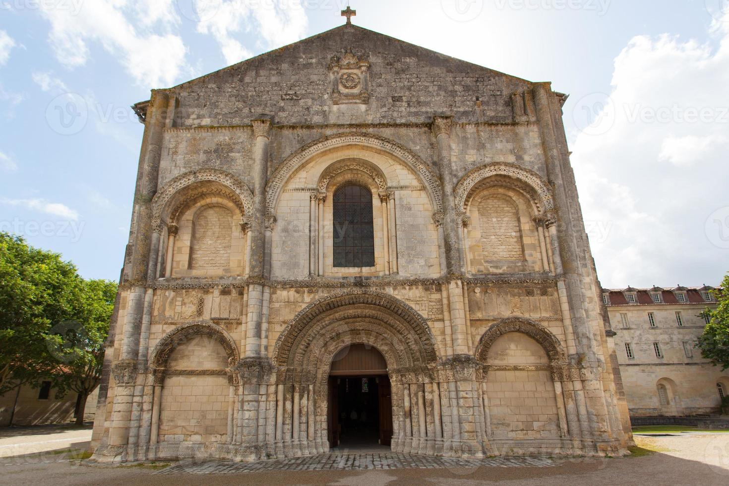 Romanesque facade photo