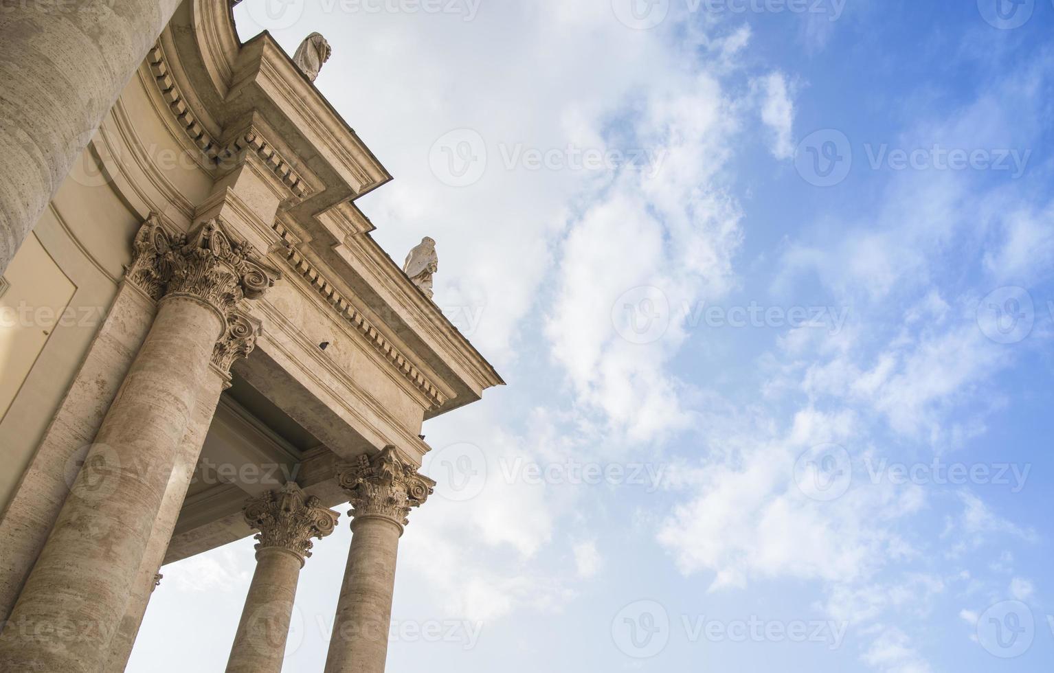 Church facade detail photo