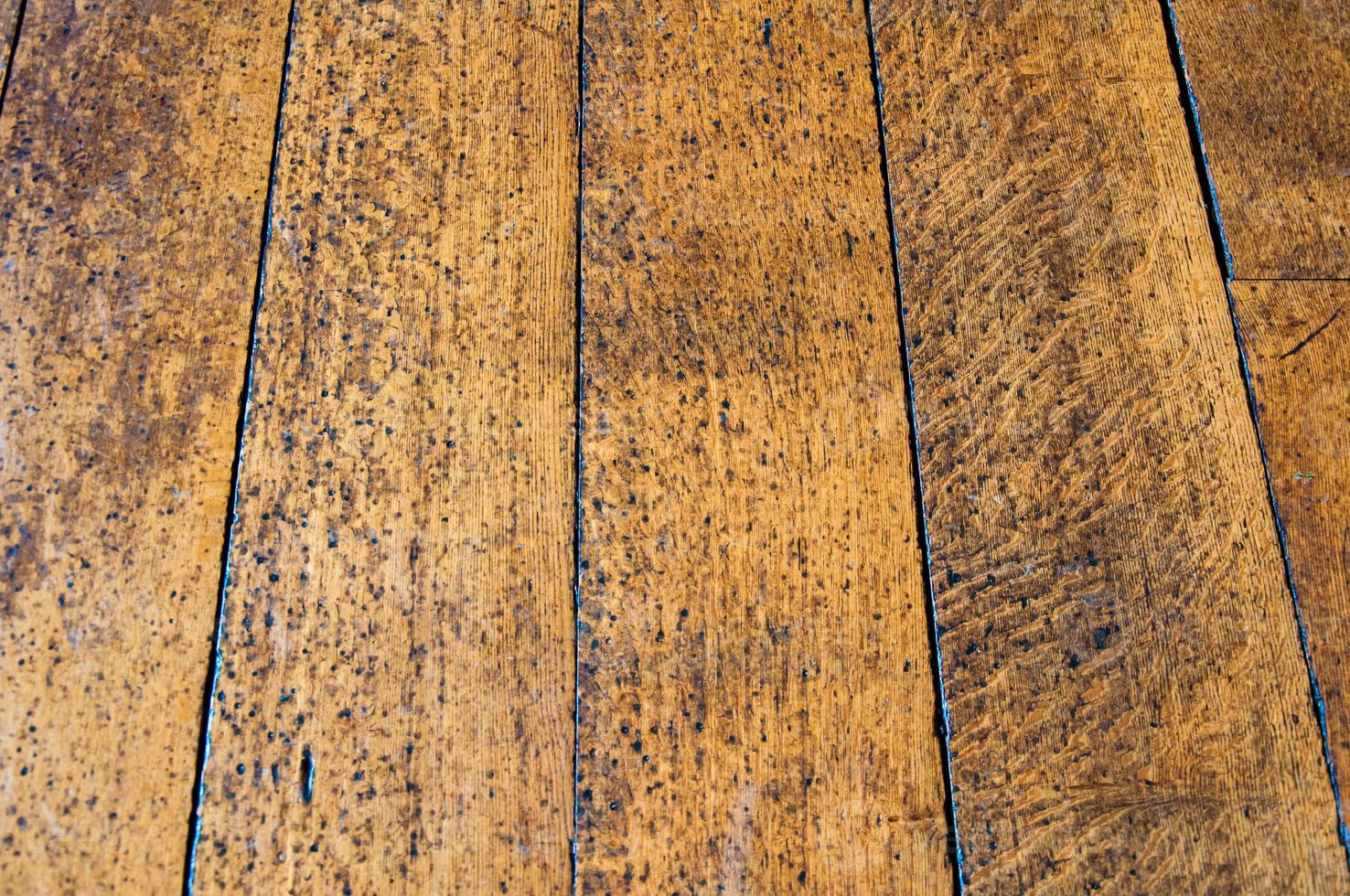 textura de piso de madera vieja foto