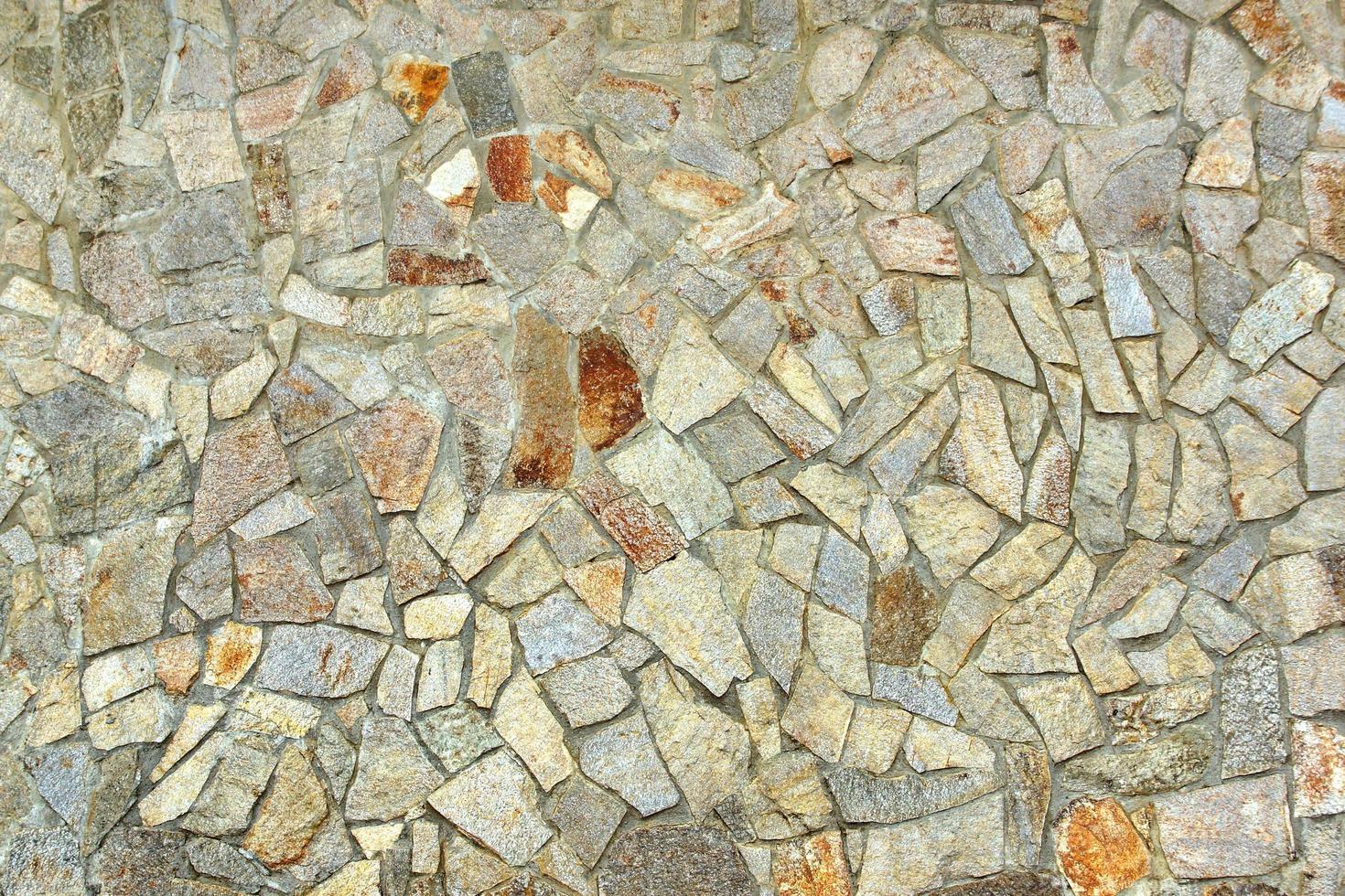 Fondo de pared de piedra antigua decorativa foto