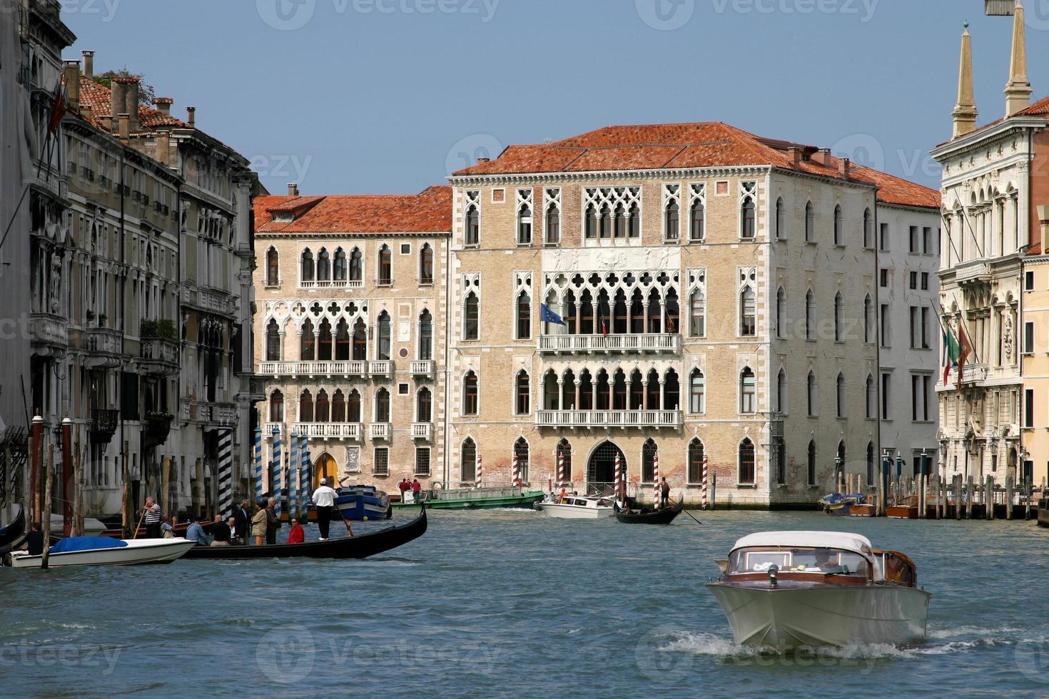palacio en venecia, italia foto