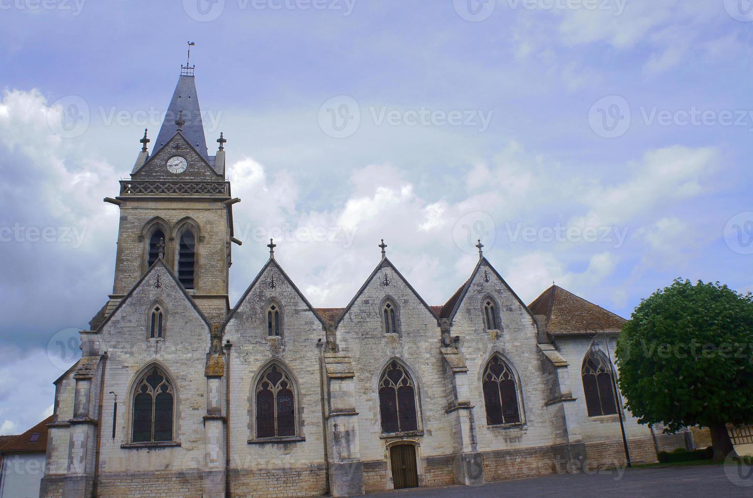 iglesia parroquial medieval foto