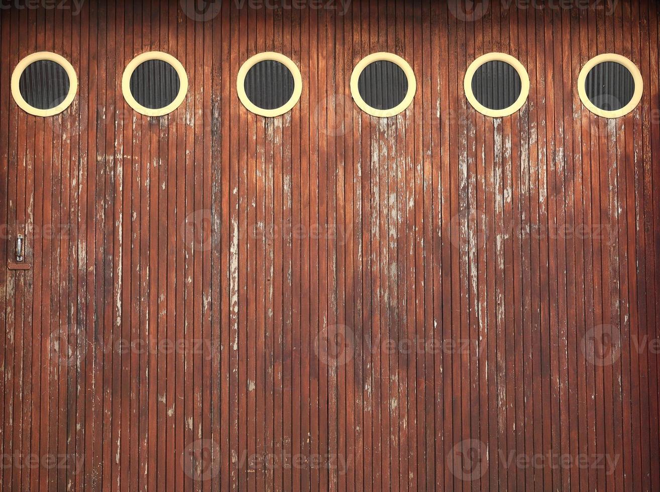 Garage door-France photo