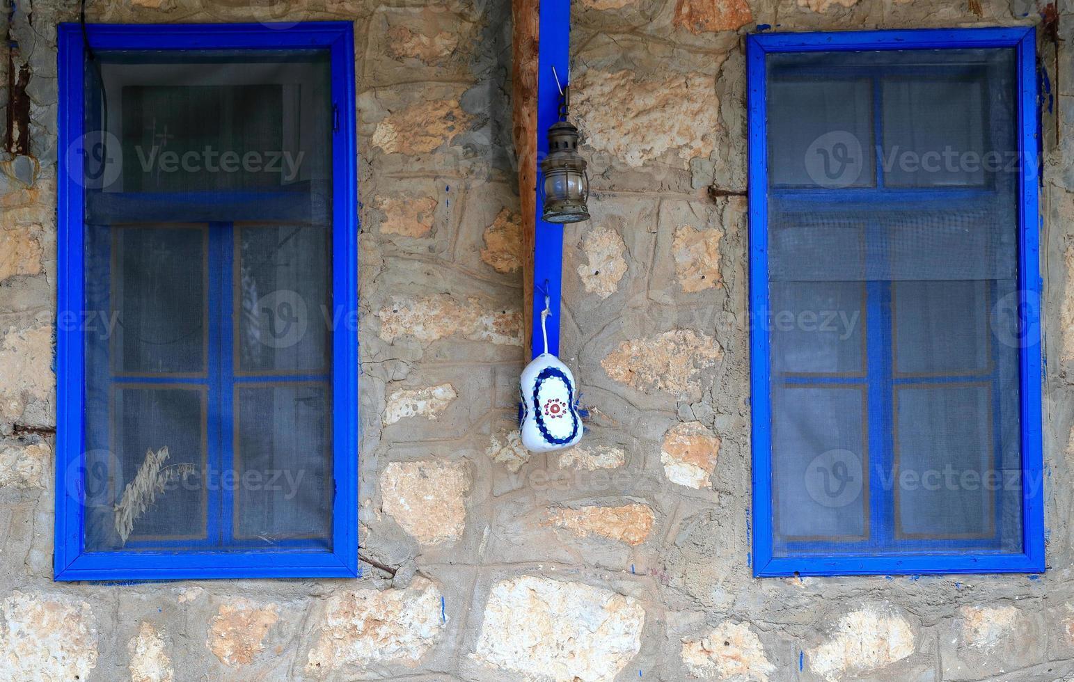 Blue windows-Ucagiz photo