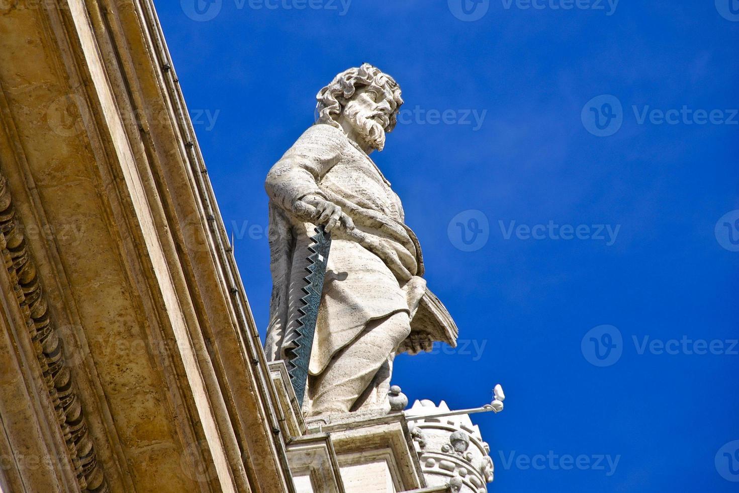 estatua en el vaticano foto